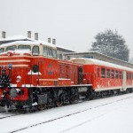 Treno con Neve