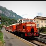 Il Treno dei Sapori in attesa dei viaggiatori