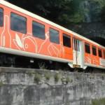 Il Treno colora di arancione la linea ferroviaria storica