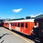 Il Treno dei Sapori durante una delle tappe del viaggio