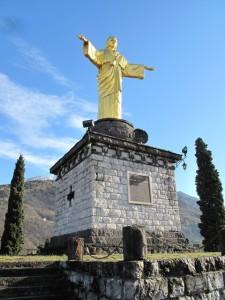 Il monumento a Cristo Re